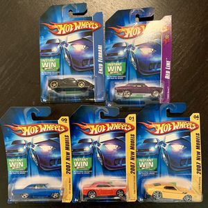 Lot of 5 Hot Wheels Collectible Cars for Sale in Antioch, CA
