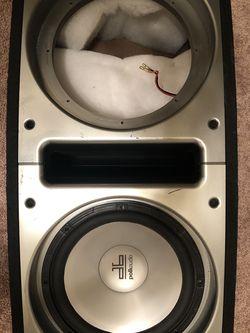 "Polk Audio 12"" Subwoofer and Dual Sub Box for Sale in Trenton,  NJ"