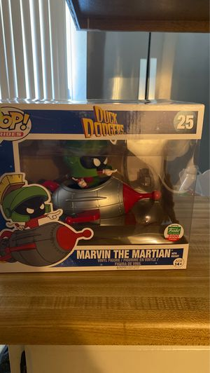 Funko Pop collectible item. Marvin the Martian for Sale in Los Angeles, CA
