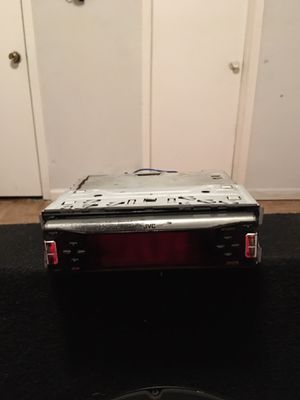 JVC car stereo for Sale in Houston, TX