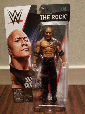 WWE Dwayne 'The Rock' Johnson Series 78 Mattel 2017 Figure for Sale in Pittsburgh, PA