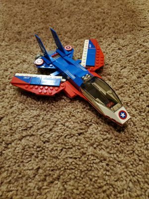 Lego marvel captain America jet for Sale in Milford, MI