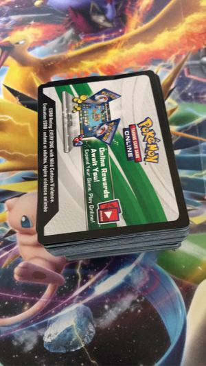 Pokemon Code Cards for Sale in Stockton, CA