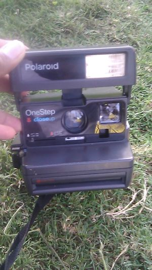 Polaroid one step close up 600 film instant camera for Sale in San Diego, CA