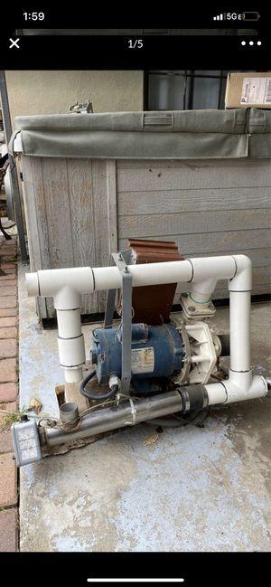Franklin Electric Pool spa motor 1081 jacuzzi for Sale in San Bernardino, CA