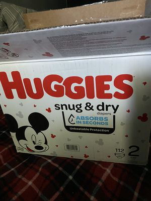 Huggies size 2 for Sale in Moreno Valley, CA