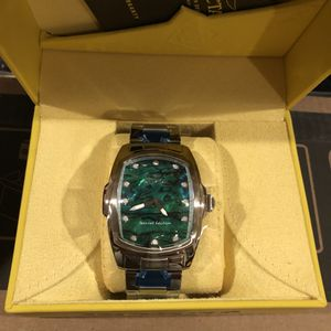 Invicta Green Rectangle Watch for Sale in Sloan, NV