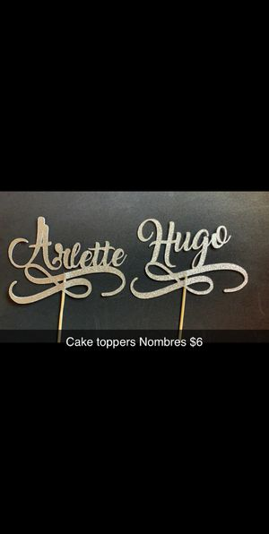 Personalized Cake toppers for Sale in Odessa, TX
