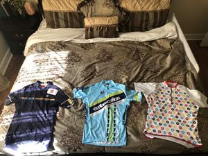 Cycling Jerseys including Giordana Castelli Santic for Sale in Portland, OR