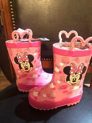 Minnie mouse snow/rain boots for Sale in Phoenix, AZ