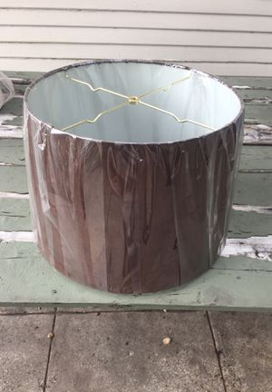 Brown Lamp shade for Sale in Los Angeles, CA