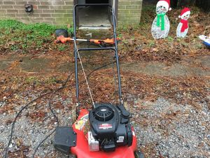 Mower and electric weed wacker **price reduced for quick sale*** for Sale in Hermitage, TN