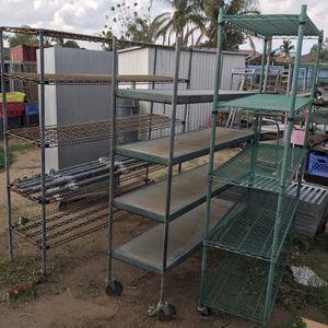 Metal Storage Racks Garage Organize Shelves for Sale in Riverside, CA