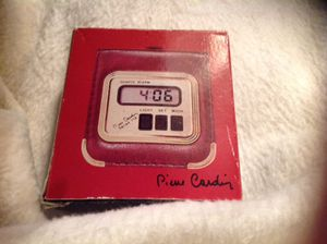 New! Pierre Cardin Travel Alarm Clock! Great Gift! for Sale in Austin, TX