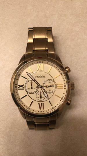 Gold Fossil Watch for Sale in Corvallis, OR