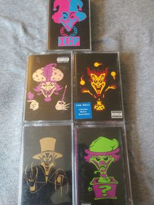 ICP Tapes in Excellent Condition only $20 for all the tapes for Sale in Willow Grove, PA