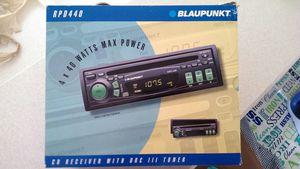 Blaupunkt Car Stereo CD/Receiver for Sale in Vero Beach, FL