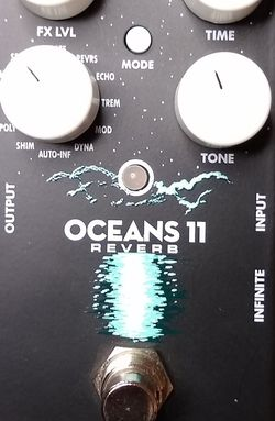 EHX Oceans 11 Reverb for Sale in Tacoma,  WA