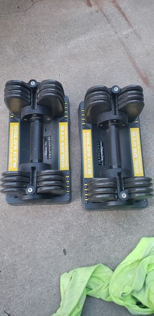 Dumbbells weights adjustable to 25lbs for Sale in Peoria, AZ