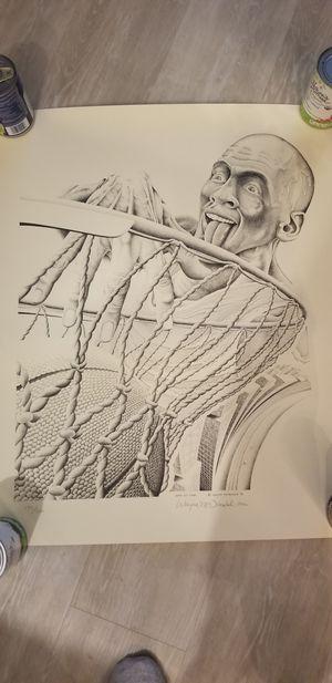 Michael Jordan Poster Wayne McDonald 1992 for Sale in Washington, DC
