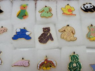Ty Beanie Babies Charms + Pins Lot of 15 for Sale in Reinholds,  PA