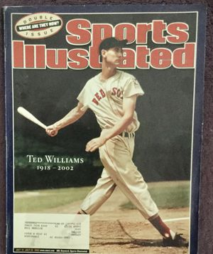 Sports-Illustrated-Ted-Williams-Double-Issue-July-15-July-22-2002 for Sale in Scottsdale, AZ