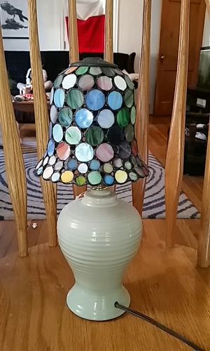 """Stained """"glass"""" lamp for Sale in Cleveland, OH"""