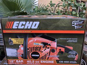 Echo CS 400 Chainsaw for Sale in Avondale, AZ