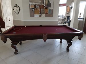Beautiful hardly used with sticks and rack, custom designer balls $1,800 for Sale in Kissimmee, FL