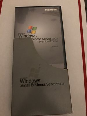 Windows small business serversPremium edition 2003 for Sale in Los Angeles, CA