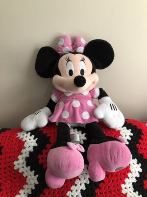 Disney Minnie mouse plush stuffed animal for Sale in Macedonia, OH