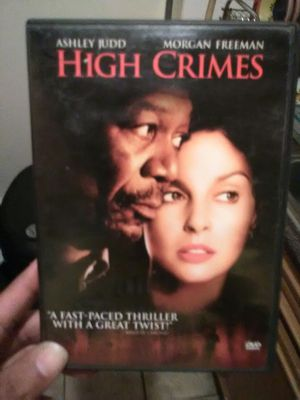 High Crimes DVD for Sale in The Bronx, NY