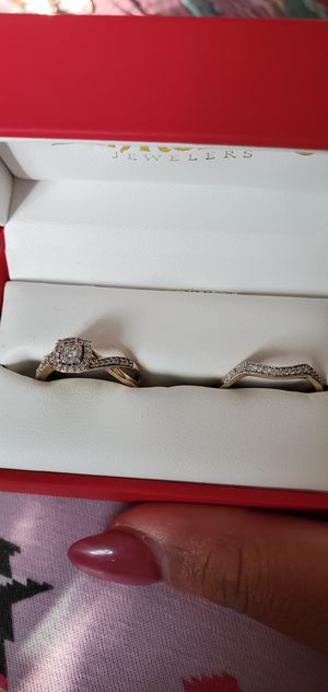 Wedding rings set. for Sale in Anaheim, CA