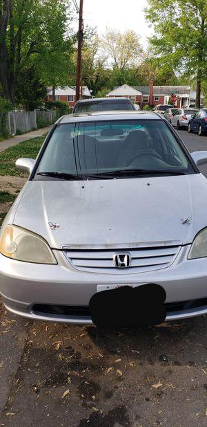 Honda civic 2001 for Sale in Adelphi, MD