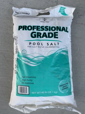 Pool salt for Sale in Manteca, CA
