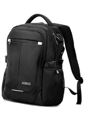 Laptop Backpack, Business Backpack for Women & Men, Slim Durable Travel Computer Bag, Waterproof College School Bookbag with USB Charging Port Fits 1 for Sale in Norco, CA