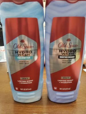 Old Spice Hydro Wash Men's Body Wash for Sale in Pawtucket, RI