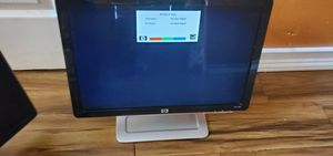 Hp 19 inches computer laptop monitor. With dvi and vga acable for Sale in Biscayne Park, FL