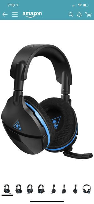 Turtle Beach Stealth 600 Wireless Surround Sound Gaming Headset for PlayStation 4 Pro and PlayStation 4 for Sale in Everett, WA