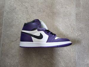 Air Jordan 1 Retro High Court Purple Size 11 for Sale in North Miami, FL