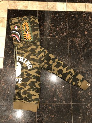 Limited Edition Bape hoodie Size Adult small (willing to negotiate) for Sale in Falls Church, VA