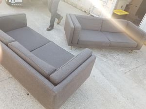 Modern gray very comfortable sofas, amazing couch !! Super comfy for Sale in San Rafael, CA