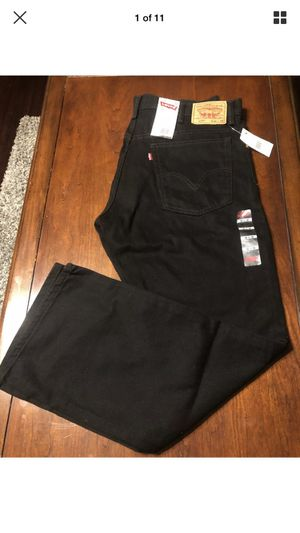 Levi's 517 Boot Cut Black Jeans SZ 38 Waist 30 Inseam NWT for Sale in High Point, NC