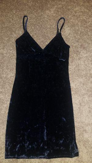 Navy Suede Blue Strap Dress Size M for Sale in Marietta, GA