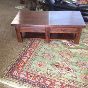Coffee table (hardwood handmade) for Sale in Winter Garden, FL
