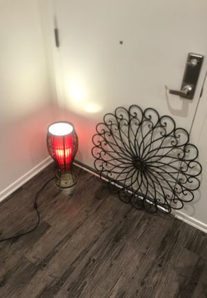 Lamp and home decor for Sale in Irvine, CA