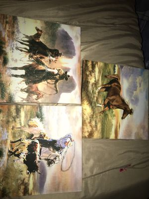 Cowboys painting for Sale in Grand Prairie, TX
