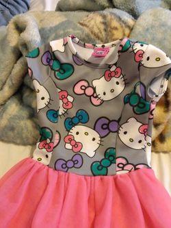 Hello Kitty Girls Size 4/5 Dress for Sale in Chesapeake,  VA