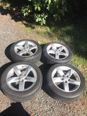 17 inch Mitsubishi rims and tires for Sale in Seattle, WA
