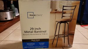 Mainstays Metal Bar Stool for Sale in Fort Lauderdale, FL